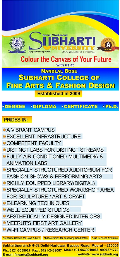 Subharti College Of Fine Art And Fashion Design Subharti University