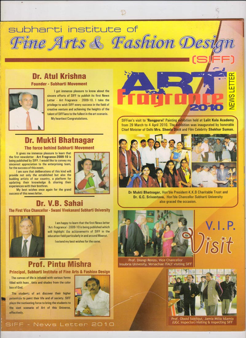 Newsletter Coverpage-2010